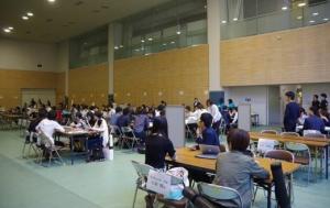 ワークショップの発表大会(北九州市立大学)